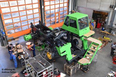eDumper mining truck wins European eMove360° award