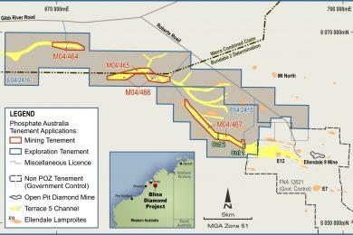 Trial mining to start next year on new Western Australian diamond project