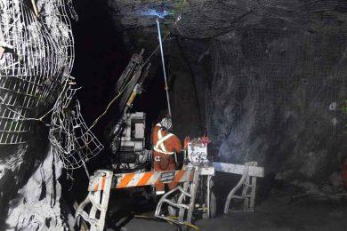 Drilling as an art form: complex surface ventilation raise