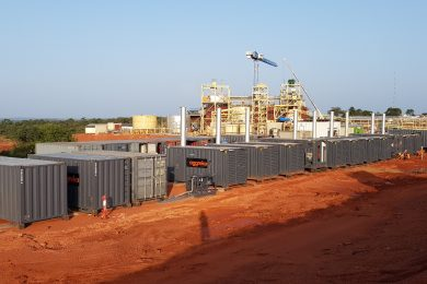 New Aggreko power plant commissioned at Yanfolila, Mali