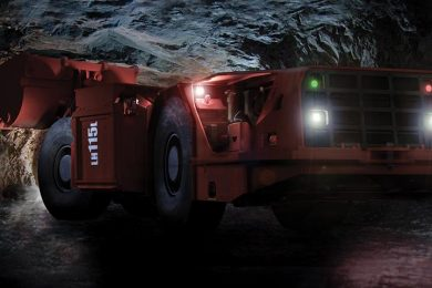 New Sandvik Mining LHD from new manufacturing facility in South Africa