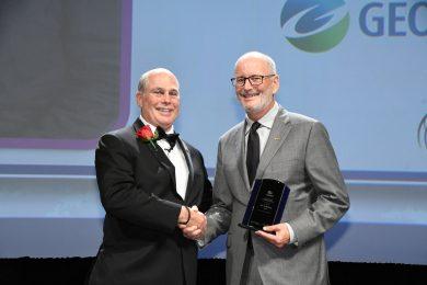 Ian MacLeod receives SEG Cecil Green Enterprise Award