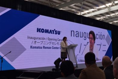 Komatsu Reman Center Chile opens to serve mining and other heavy industries