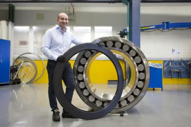 SKF delivers record bearing for Polysius HPGR at Peruvian copper mine