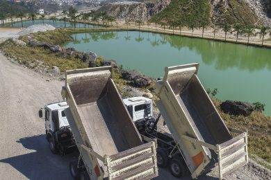 Metso rubber truck body lining solution reduces costs in Brazilian quarry
