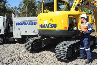 Komatsu Australia implements Fix It First Time concept