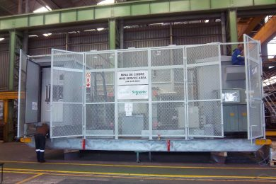 Parnis Manufacturing supplies skids and enclosures for Cobre Panama substations