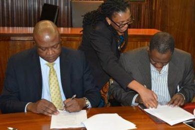 Mintek signs MoU with Nigeria's Raw Materials Research and Development Council