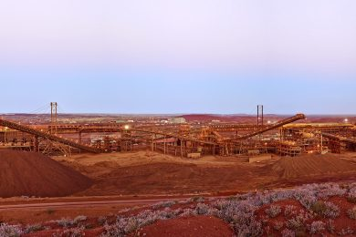 RCR awarded Fortescue contract for relocatable conveyor system
