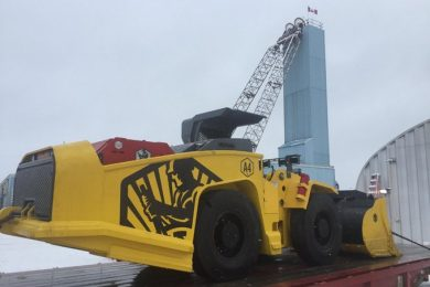 First battery LHD in Timmins delivered by Artisan