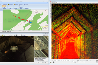Mapping underground mines with Leica Pegasus: Backpack