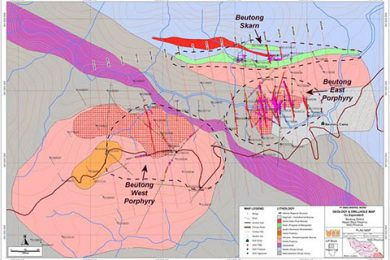 Asiamet receives production licence for 5,300 Mlb Cu, 2.1 Moz Au Beutong project