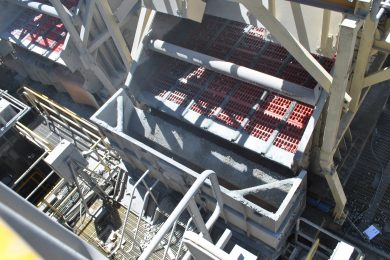 Weba Chutes provides solution at Carmen de Andacollo in Chile