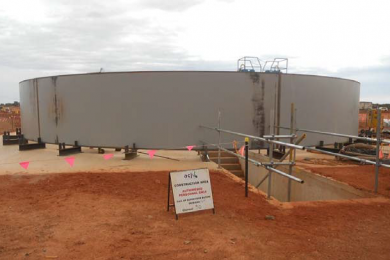 Gruyere gold project on schedule and within budget