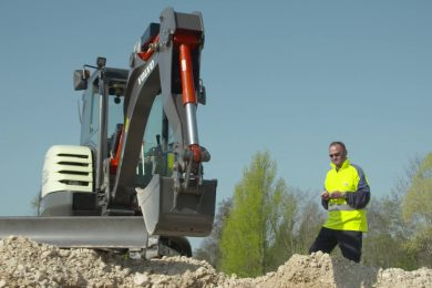 Volvo CE all electric EX2 excavator among INTERMAT Innovation Award winners