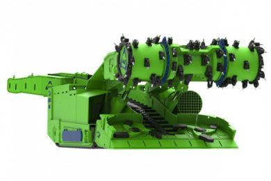 South African designed and built continuous miner
