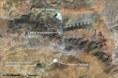 Maya Gold & Silver files technical report on positive PEA at the Zgounder silver mine in Morocco