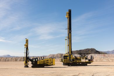 Komatsu accelerates its development of smaller surface mining drills
