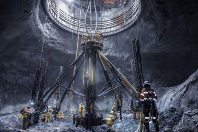 Redpath and Hasu Megawatt reach bottom at Oyu Tolgoi Number 2 shaft