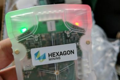 Hexagon Mining introduces HxGN Mine Personal Alert