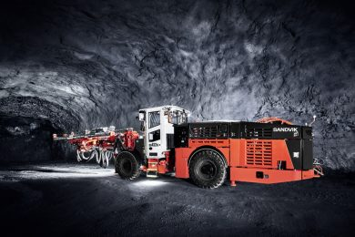 Sandvik DD422iE units helping Goldcorp achieve first all-electric mine at Borden