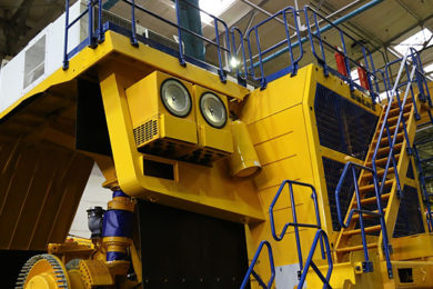 BELAZ rolls out its new 290 t mining truck class