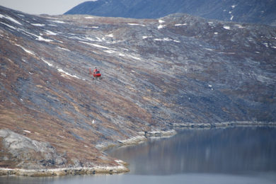 Two hydropower plant locations under study by North American Nickel in Greenland