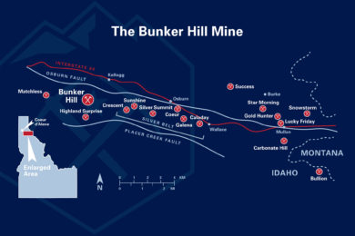 Bunker Hill gets past liability clean sheet from EPA to open its namesake Zn-Pb-Ag mine