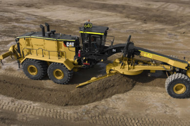 New Caterpillar 24 Motor Grader will better address road maintenance in large mines
