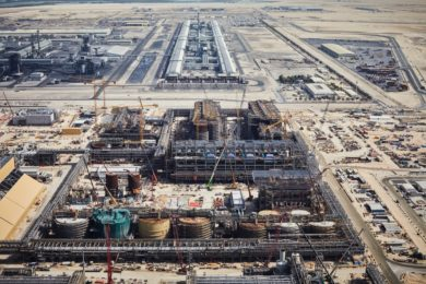 EGA completes a major section of Al Taweelah alumina refinery in construction milestone