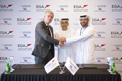 EGA signs an agreement for transshipment of bauxite in Guinea