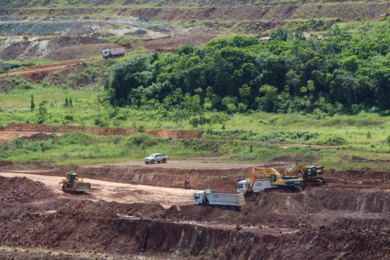 Contractor U&M starts mining at Aurizona; environmental project wins excellence award