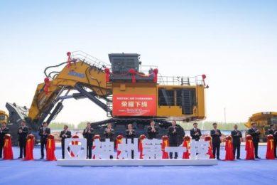 XCMG unveils 700 t hydraulic excavator - International Mining