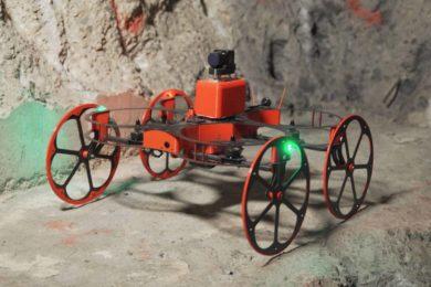 Japan's Terra Drone invests in underground aerial robotics