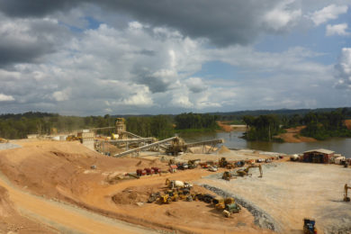 Guyana Goldfields picks STRACON for Aurora open pit mining contract