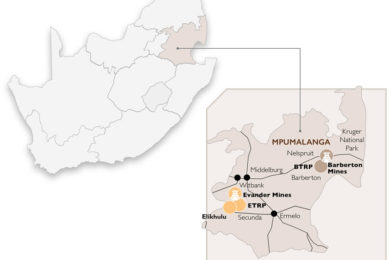 Pan African Resources update on operations and BTRP mill commissioning