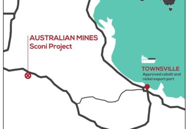Additional cobalt-nickel mineralisation potential at Sconi