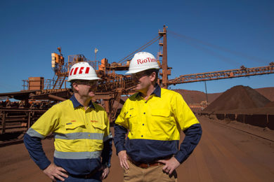 TAKRAF leading design and implementation of stacker replacement at Rio Tinto Paraburdoo