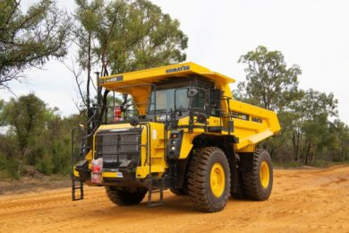 Komatsu Has Introduced Low Emission Tier 4 Engines On Its 40 T Capacity Hd405 8 And 63 Hd605 Rigid Frame Dump Trucks Which Also Reduce