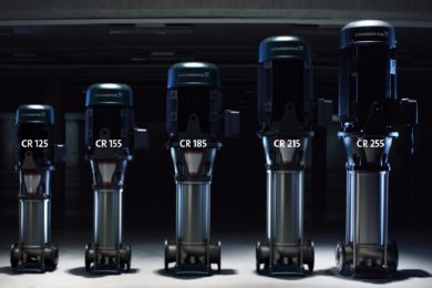 Grundfos to premiere new CR inline multistage pumps at Electra Mining