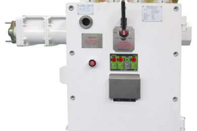 Ampcontrol advanced power control unit commissioned at