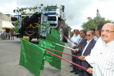 Northern Coalfields gets first BEML 205 t electric drive