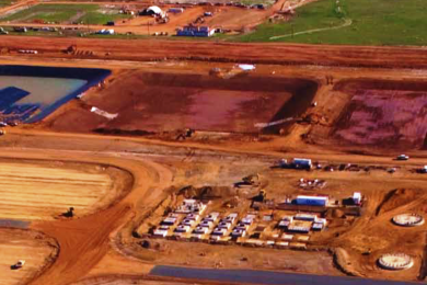 Grounded Construction ahead of schedule at Iluka's Cataby mineral sands project
