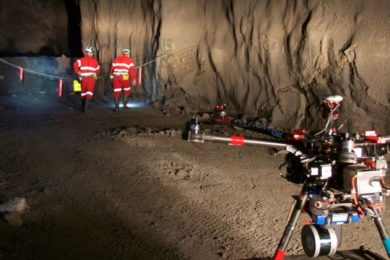 CSIRO's Data61 competing in DARPA Subterranean Challenge