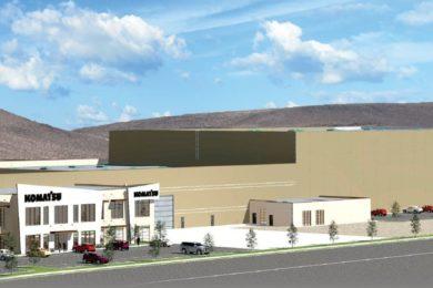 Komatsu dealer to open major new mining service centre in Elko, Nevada in 2020