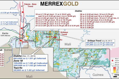 In Mali, Siribaya's gold resource looks promising, especially alongside Boto