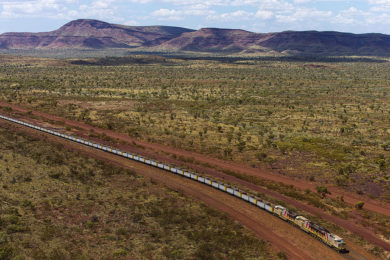Rio Tinto has successfully deployed AutoHaul™ automated long distance rail network