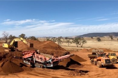 ABx's Bald Hill bauxite hits the road