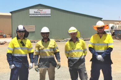 Baru Group wins conveyor and stacker work at Rio Tinto's