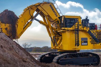 Komatsu Australia launches updated PC4000-6 mining excavator